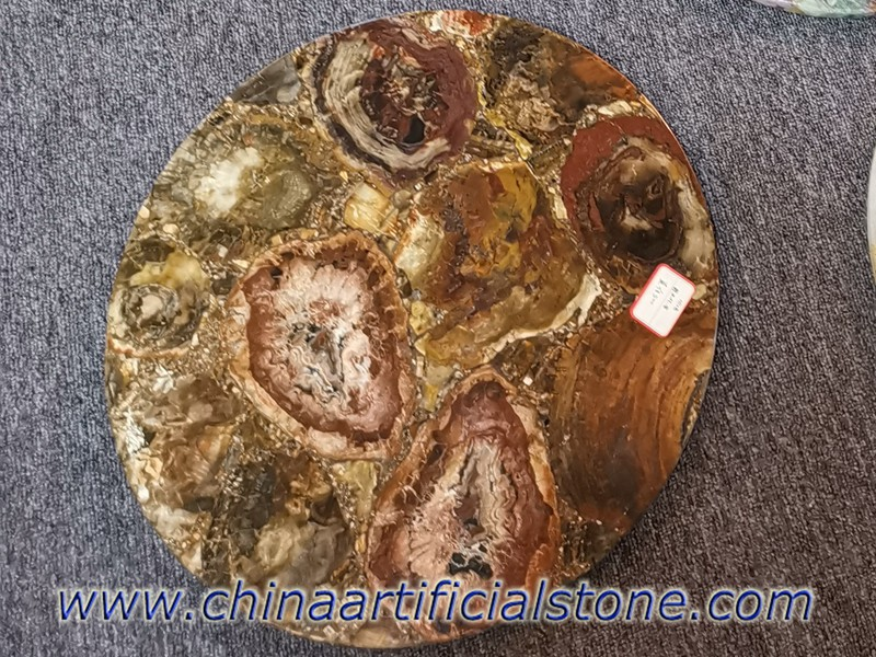 Petrified Wood Table tops