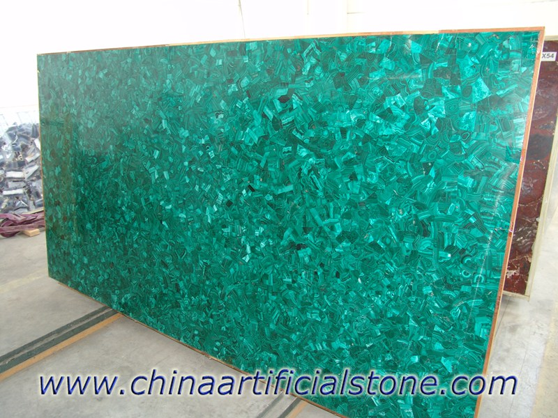 Malachite Green Gemstone Slabs
