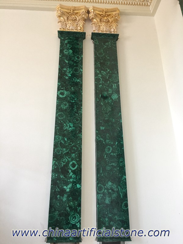 Malachite Column decoration wall panels