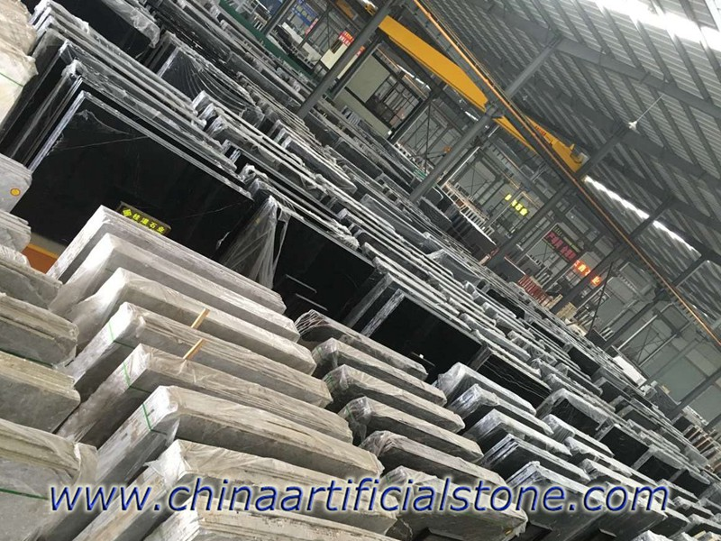 China Nero Marquina Marble Slabs Stock Market
