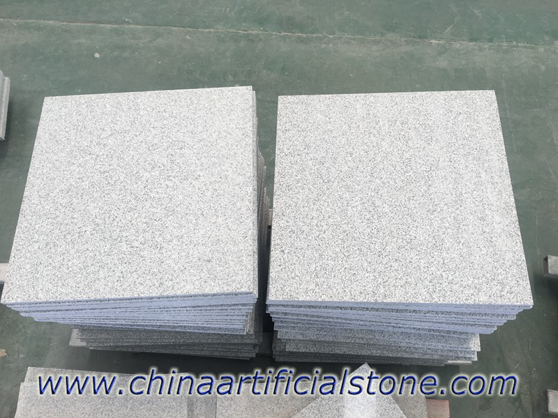 China Grey Granite G603 Flamed Tiles