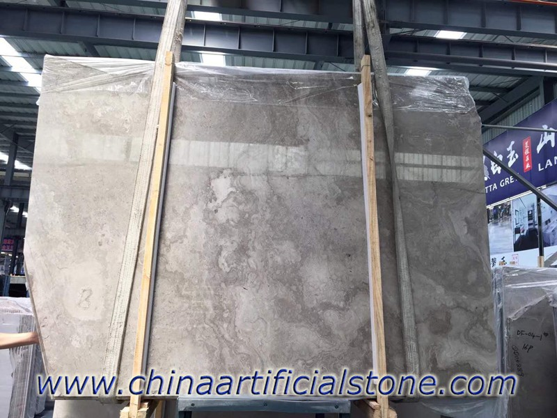 White Serpeggiante Marble Cross Cut Slabs