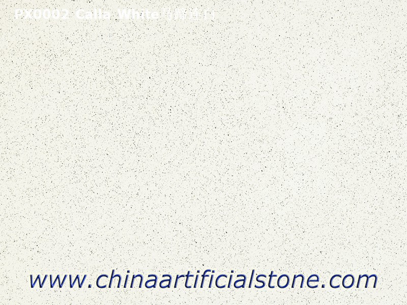 Small Grain Pure White Artificial Marble slabs
