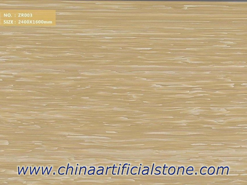 Yellow Wood Vein Artificial Onyx Panels