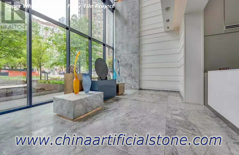 Super White Quartzite Granite Marble DolomiteSuper White Quartzite Granite Marble Dolomite Floor and Wall