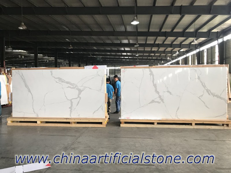 Calacatta Porcelain Slabs 3200x1600x12mm