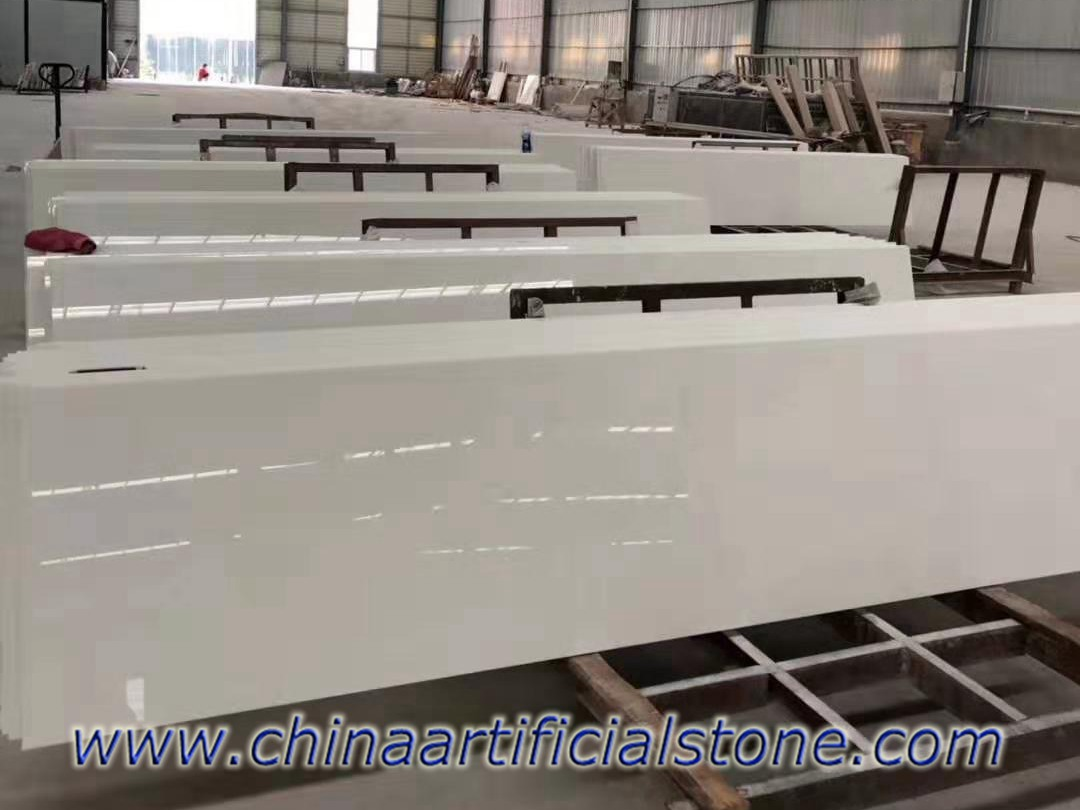 Pure White Nanoglass Countertops