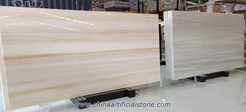 Wood Vein Nano Glass Nanoglass Marble Slabs