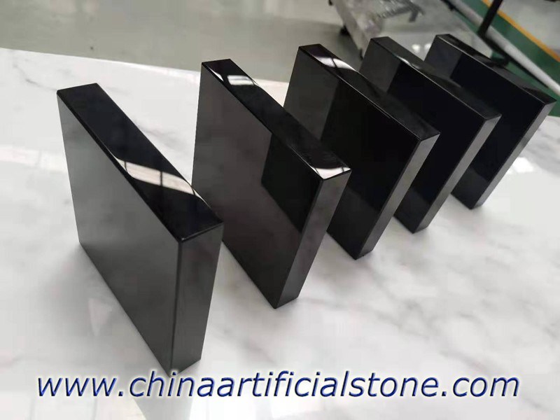 Black Marmoglass Crystallized Glass Panels