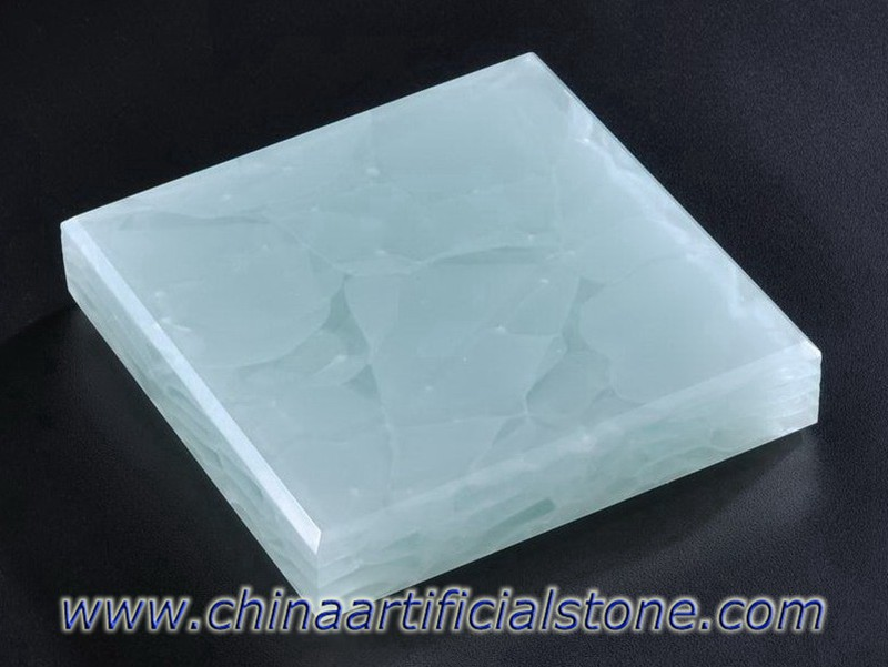 Coral Blue Magna Jade Glass Panels JGB-307