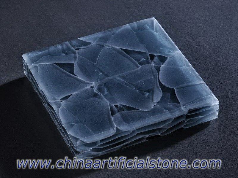 Azurite JGG-510 Grey Recycled Glass Panels