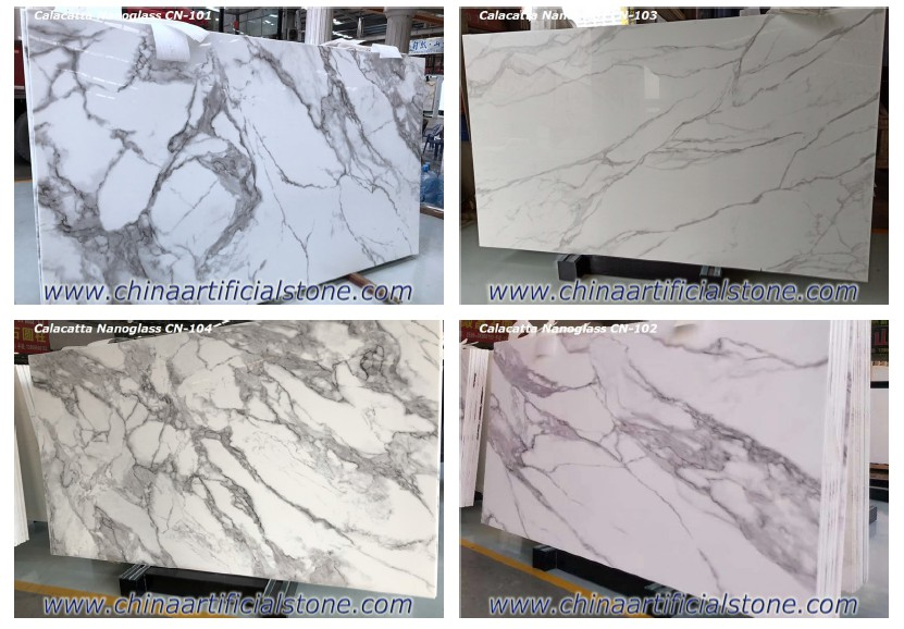 China Nano White Granite Slabs