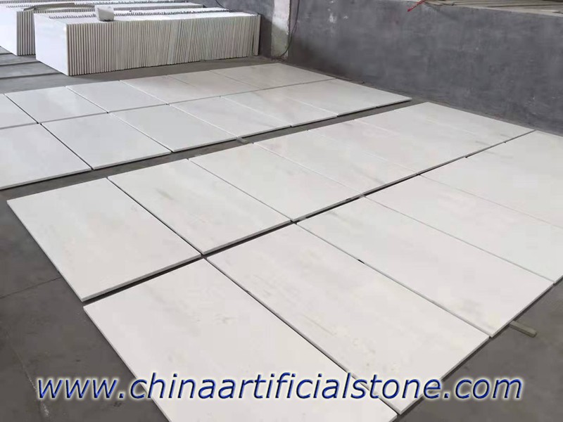 New Ariston White Marble Tiles 600x300