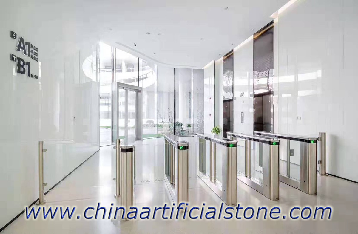 Nano White Marble for Flooring and Wall facade
