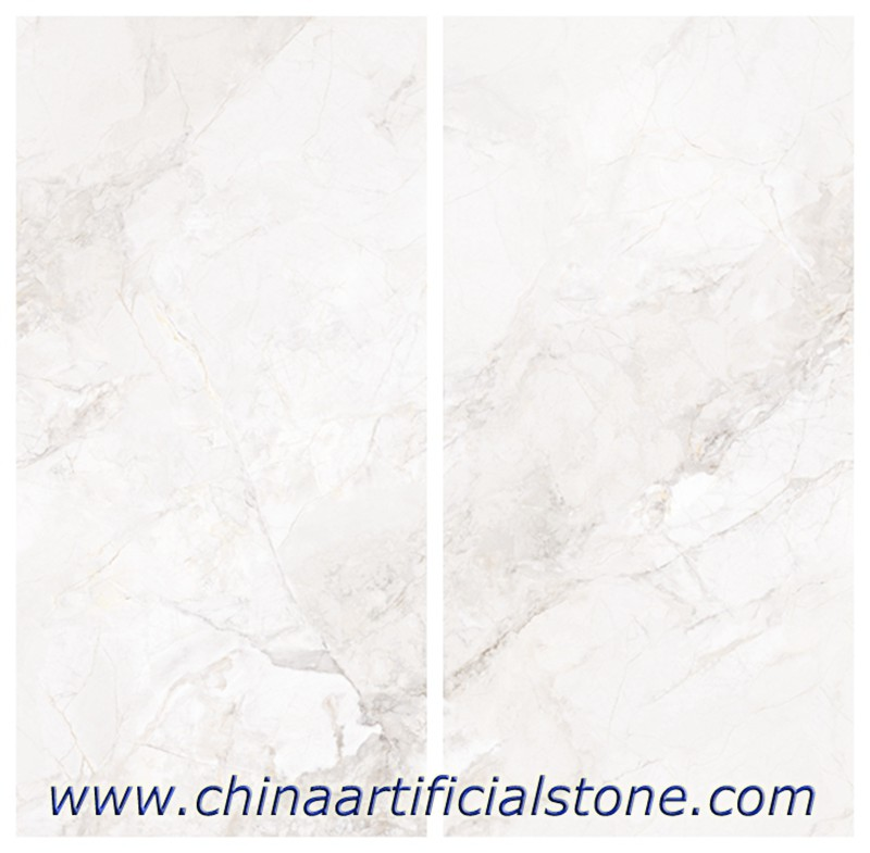 Snow White Sintered Stone Countertop Slabs