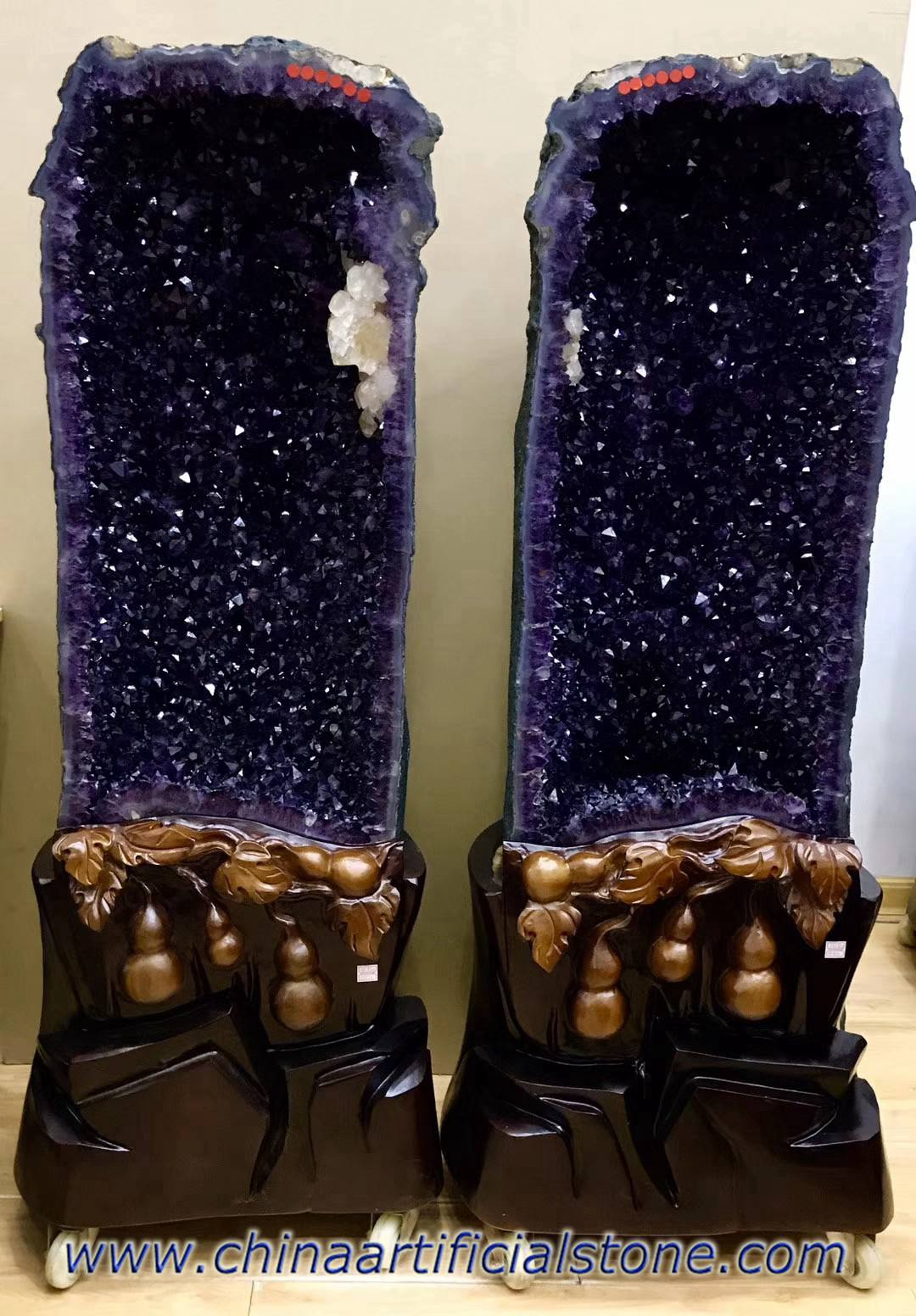 Large Amethyst Geodes Home Decoration