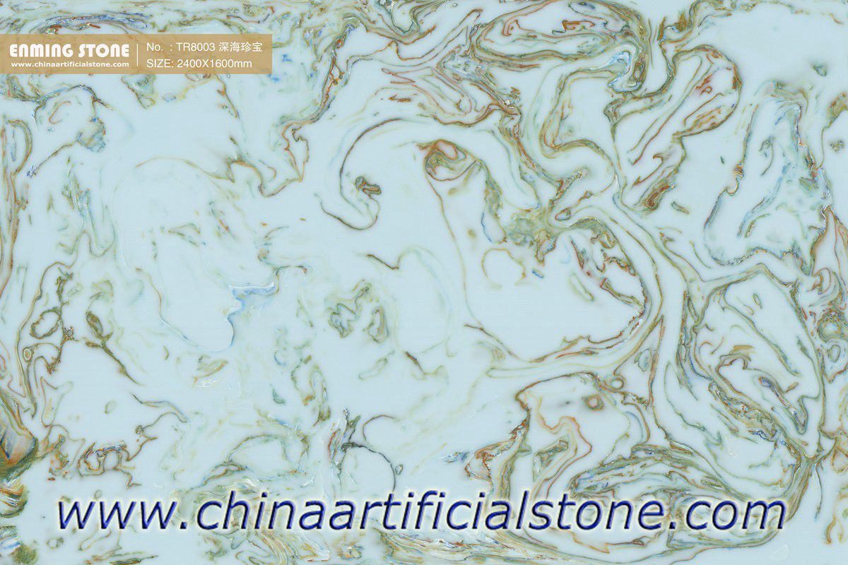 Green Engineered Onyx Sheets