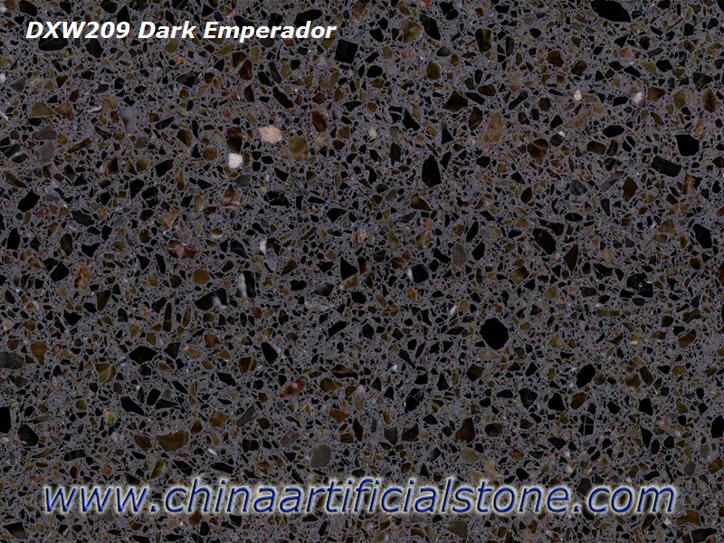 Brown Terrazzo Color for Floor and Wall