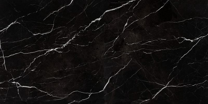 Nero Marquina Sintered Stone Slabs 3200x1600x12mm