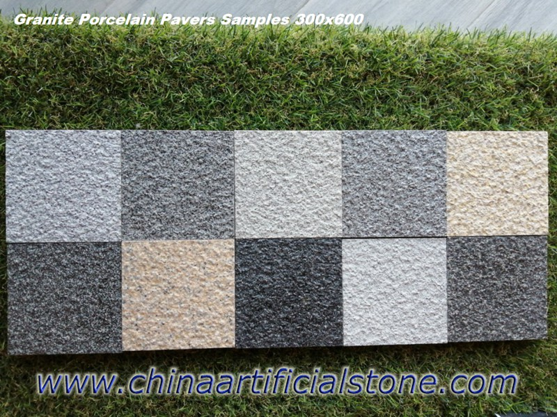 Granite Effect Porcelain Tiles