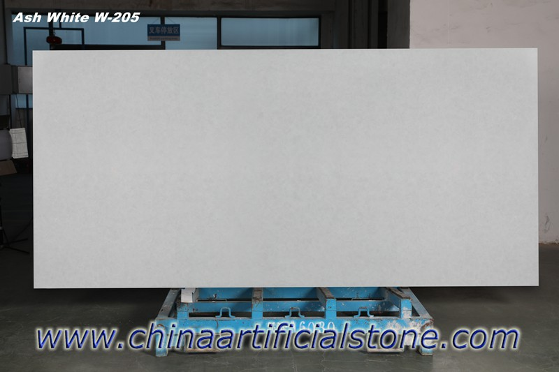 White Frost Bio Glass Slab for Countertop