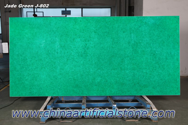 Emerald Forest Bio Glass Slabs