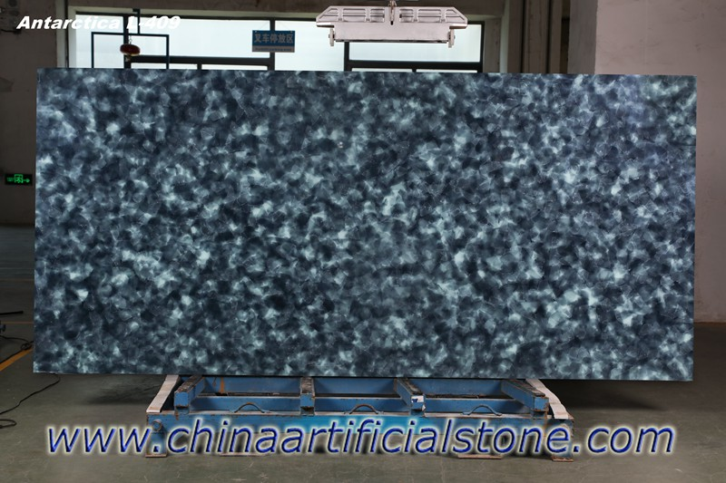 Antarcitica Sea Glass Jade glass2 Slabs for countertops JGL-409