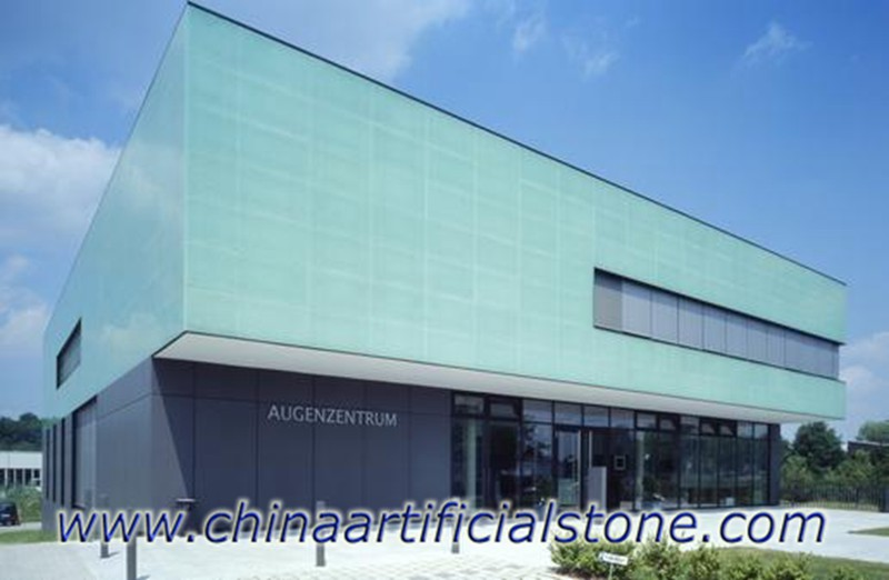 Coral Blue Jade Sea Glass For Wall facade